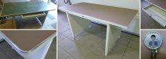 Mauser Schreibtisch Originalzustand und restauriert