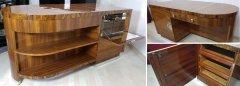 Art Deco Schreibtisch Bauhaus fachmaennisch perfekt restauriert