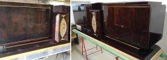 Art Deco Sideboard Palisander hochwertig innen und aussen restauriert