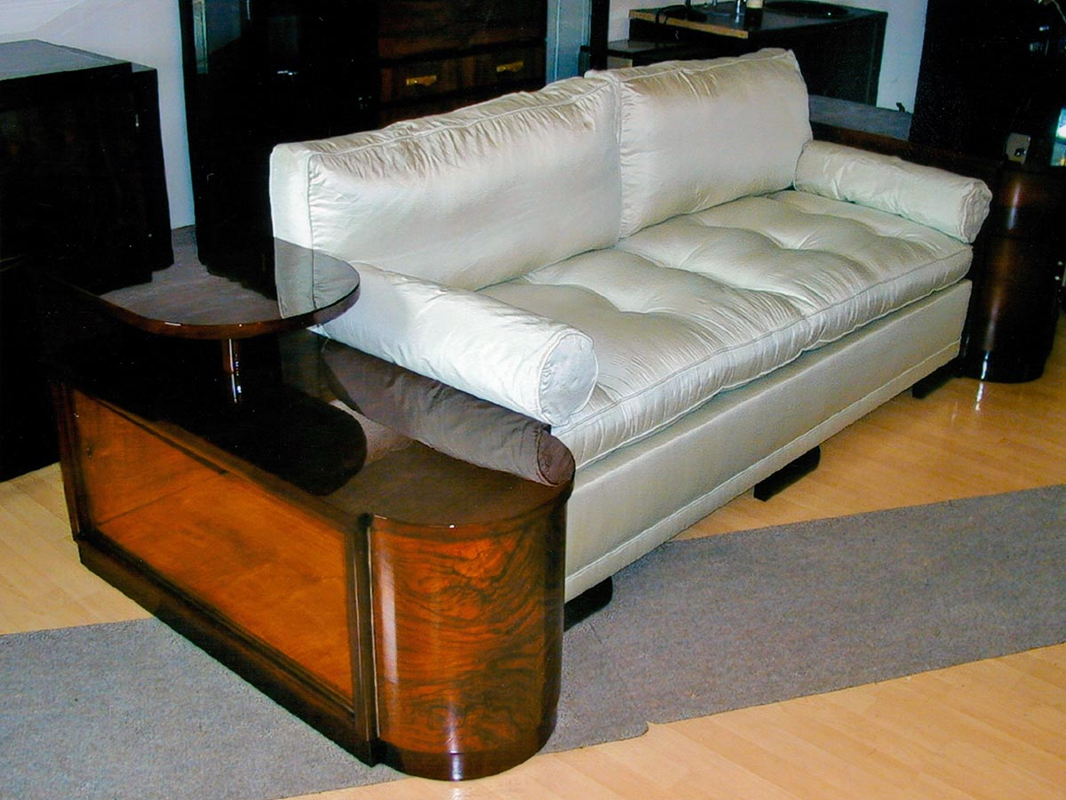 Restauriertes Art Deco Sofa  Cosy Corner