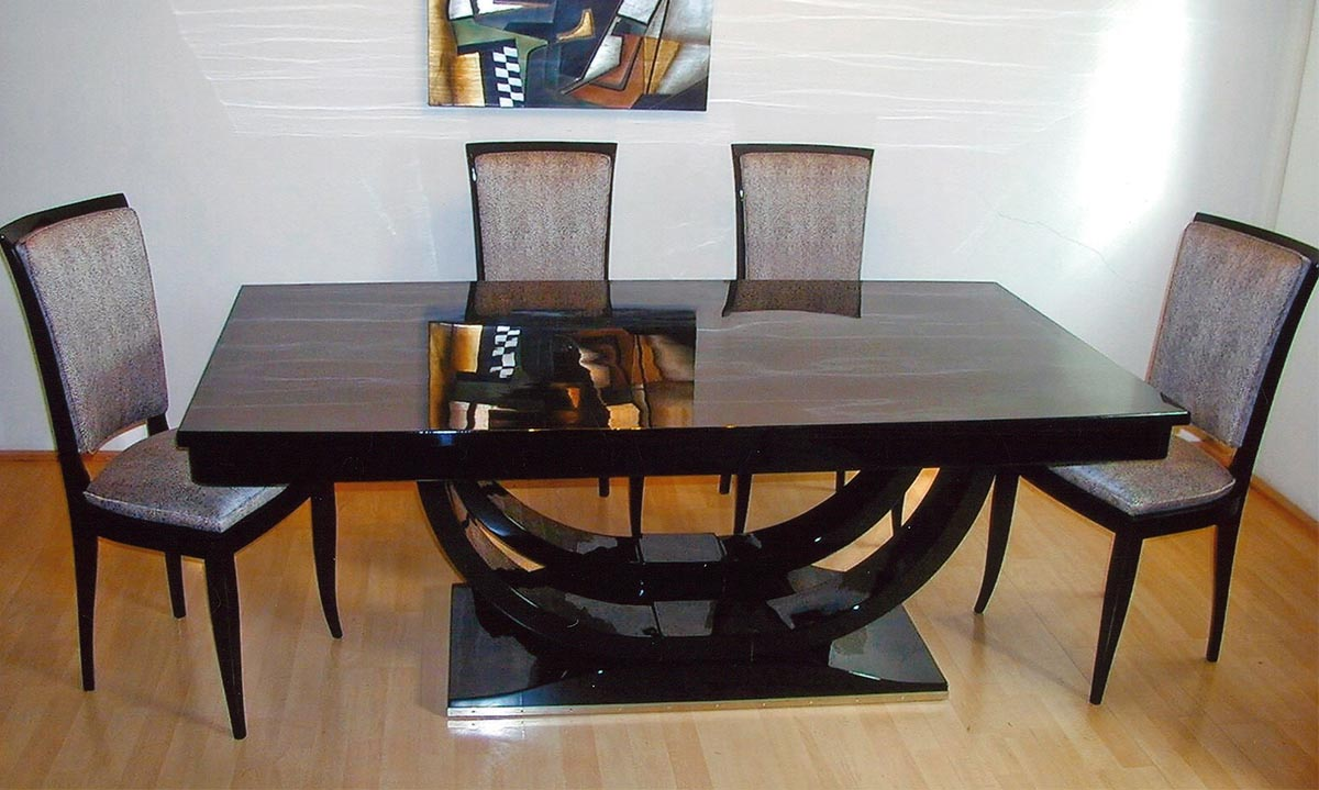 Art Deco Tisch, restauriert