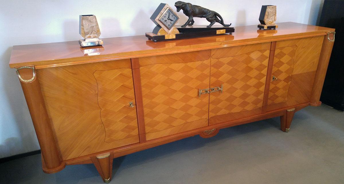 Art Deco Sideboard, Kirschbaum