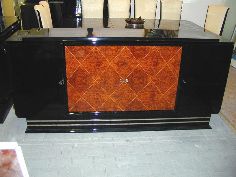Sideboard mit Amboine Wurzel