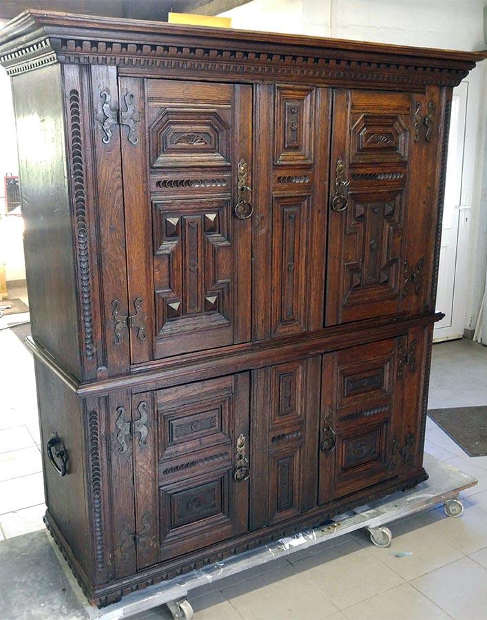 Barockschrank, hochwertig restauriert