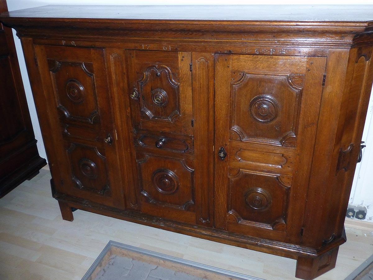 Barockschrank, restauriert